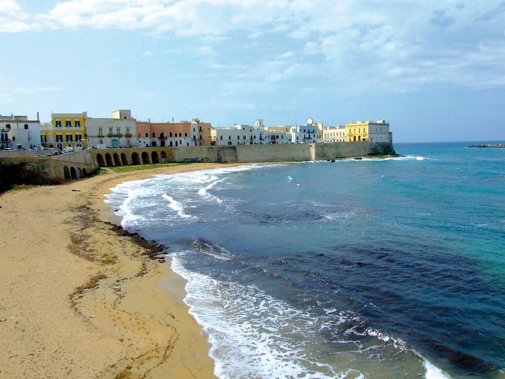 Gallipoli, la spiaggia