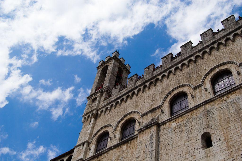 Gubbio, Palazzo medievale