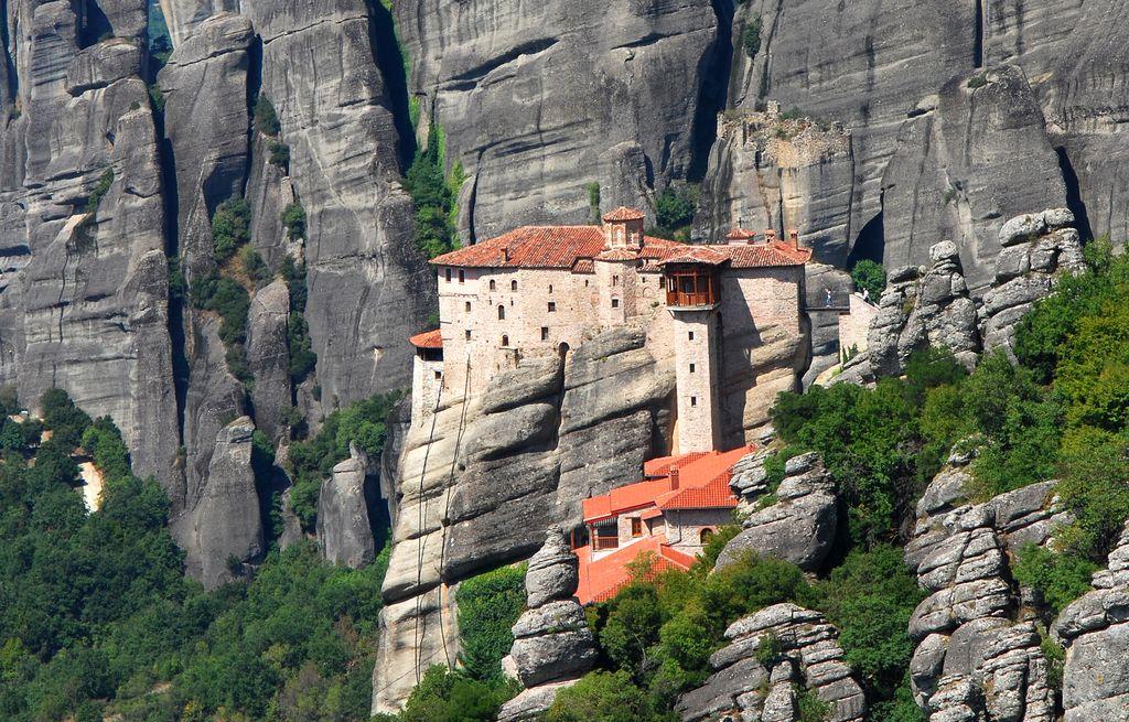 Il Monastero di Roussanou a Meteora