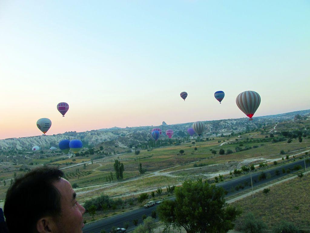 turchia mongolfiere