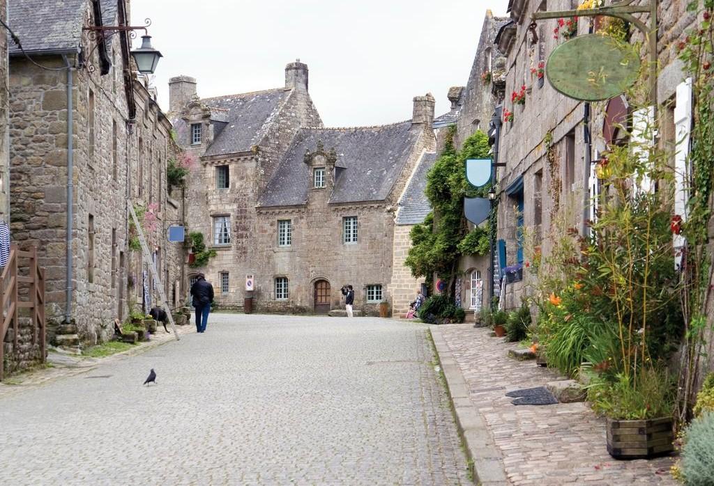 Locronan, idilliaco borgo medievale in Bretagna
