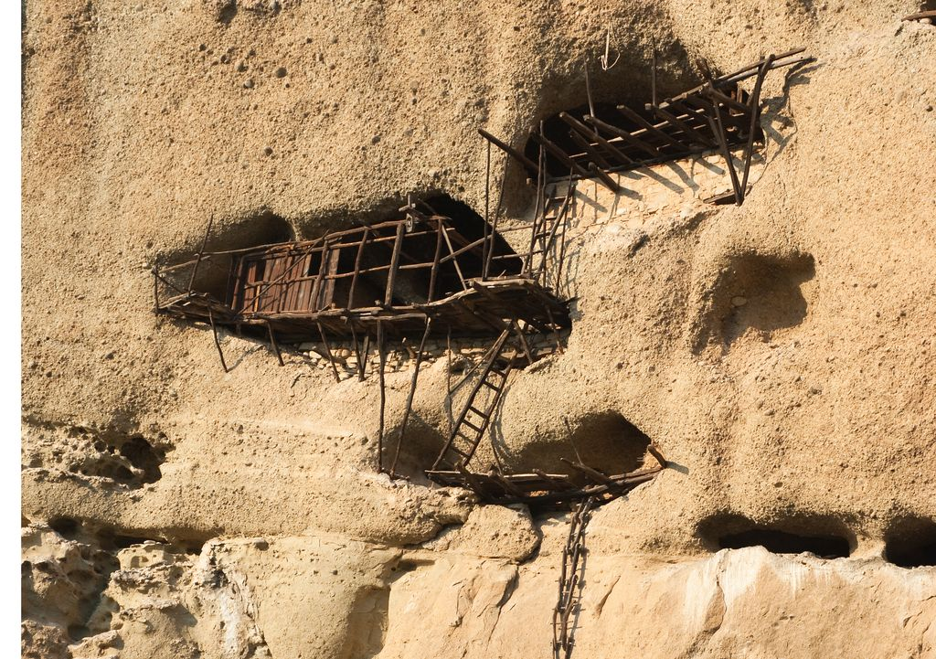 Meteora, le rovine del vecchio eremo di Agios Antonios