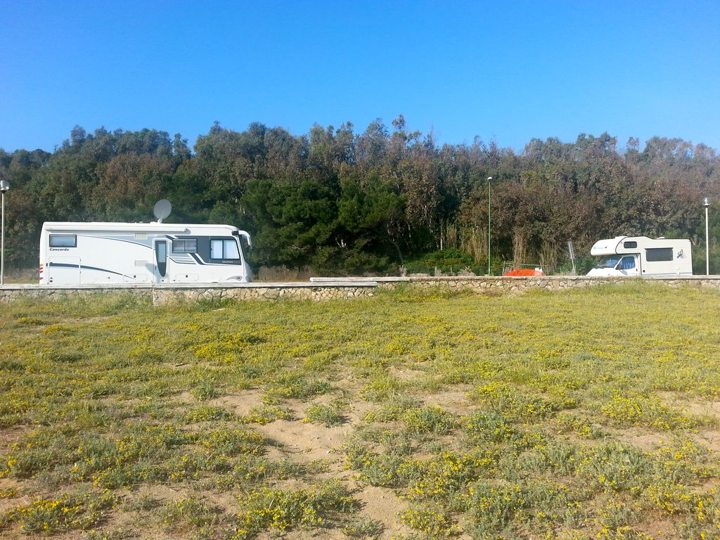 Sosta camper a Petacciato Marina