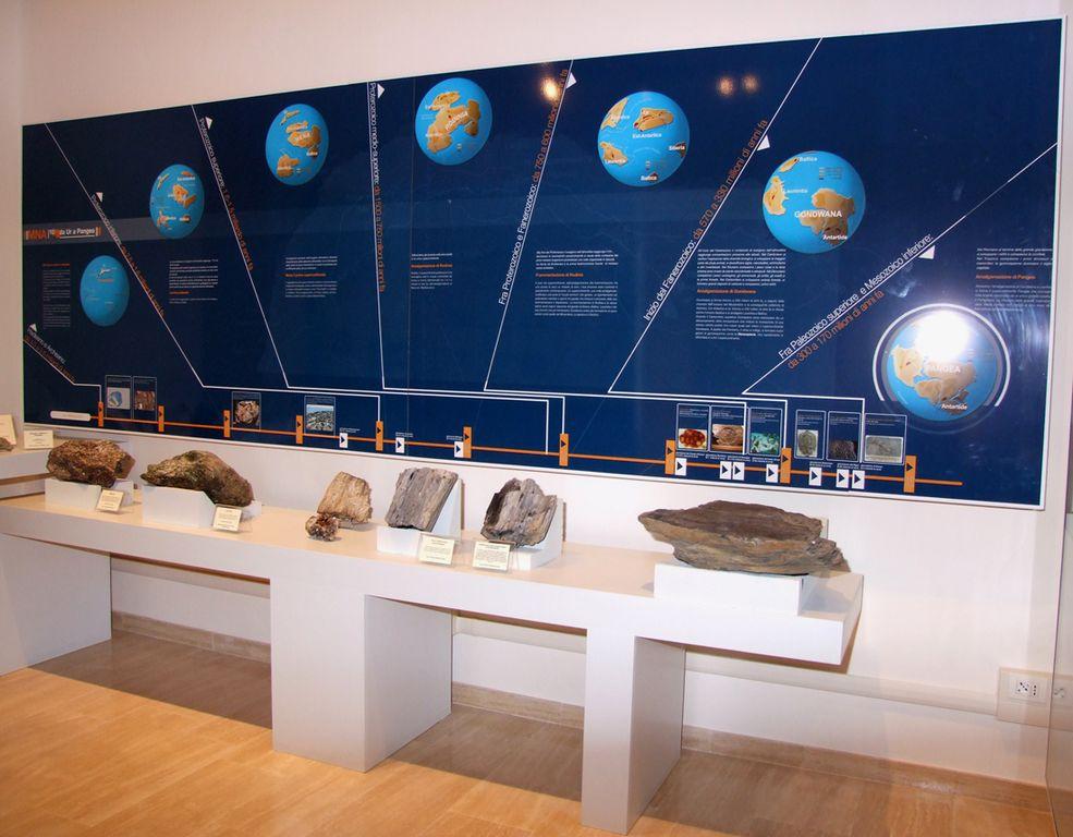 Pannello al Museo Nazionale dell'Antartide Siena