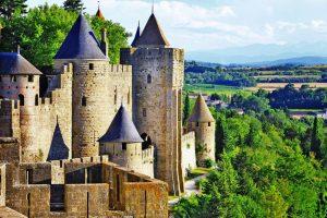 Panoramica su Carcassonne