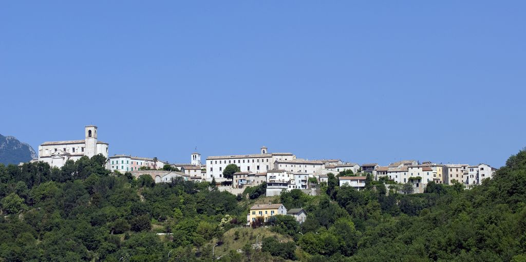 Panoramica su Sassoferrato