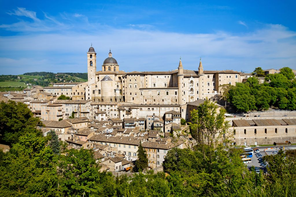 Panoramica su Urbino