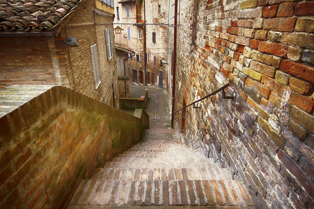 Passeggiando per il centro di Urbino
