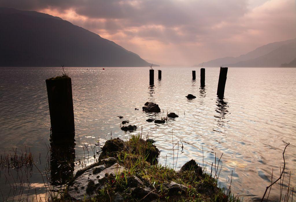 Loch Lomond, il molo