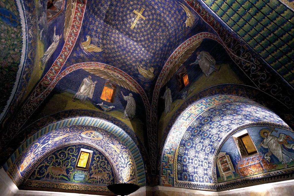 Mosaico nel Mausoleo di Galla Placidia