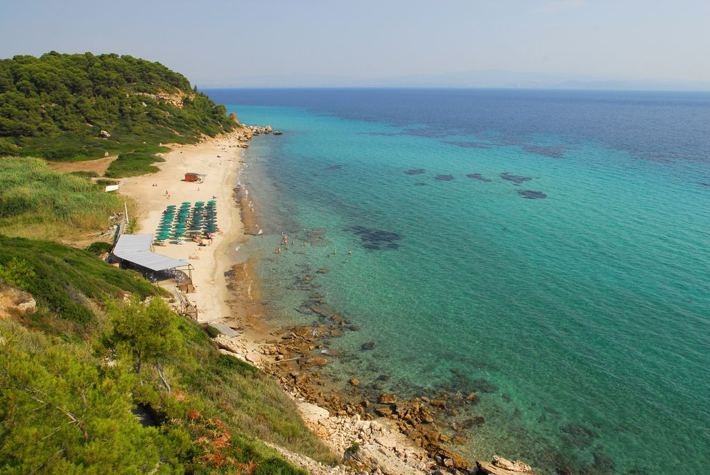 Spiaggia a Kassandra, Halkidiki