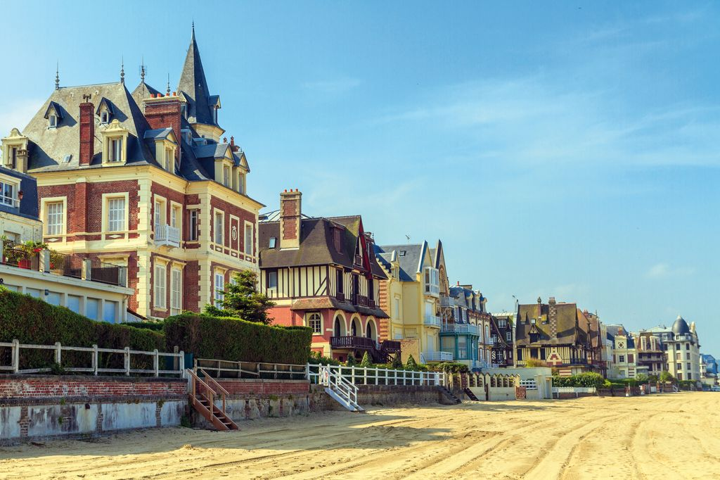 Trouville sur Mer, nella bassa Normandia