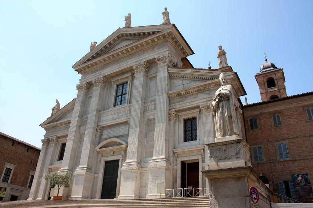 Urbino, la cattedrale di Santa Maria Assunta