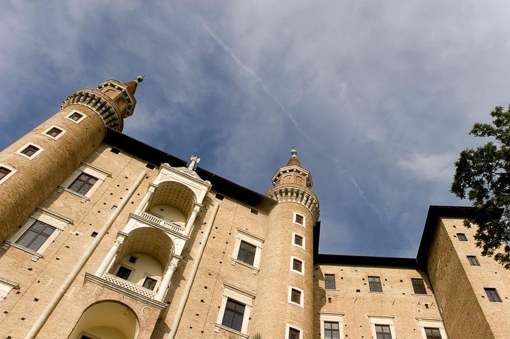 Urbino, vista del Palazzo Ducale
