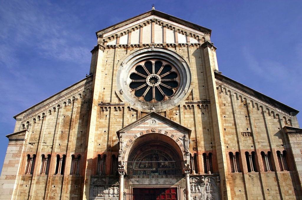 Verona, La Cattedrale di San Zeno