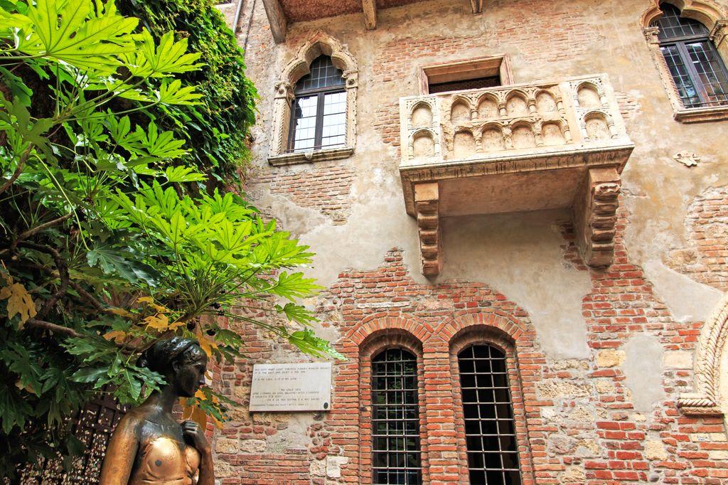 Verona, il balcone di Romeo e Giulietta