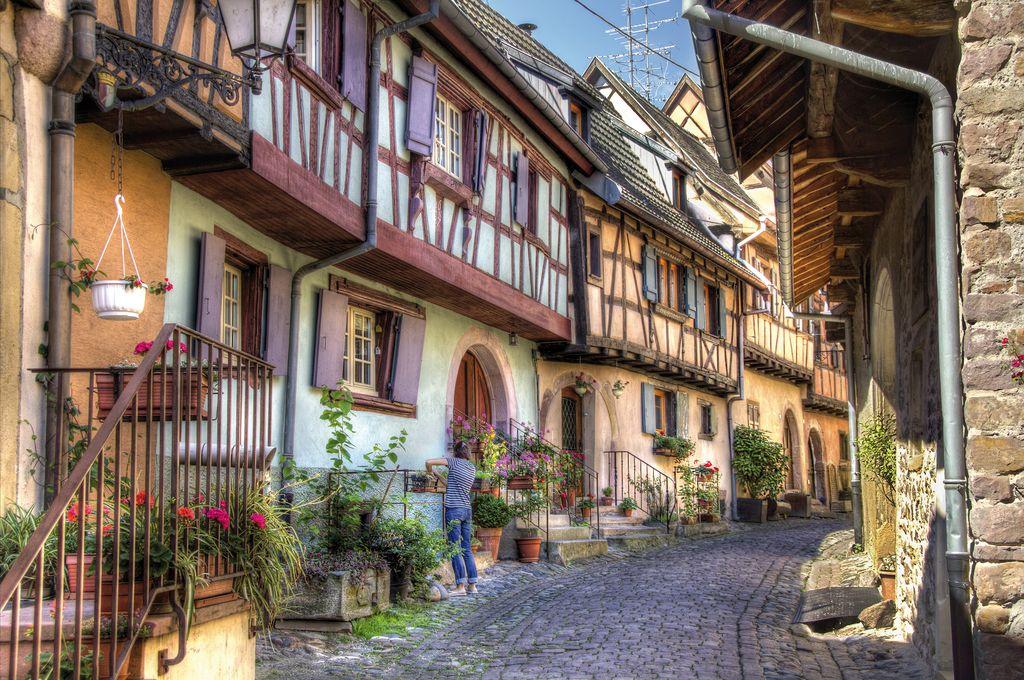 Il villaggio di Eguisheim