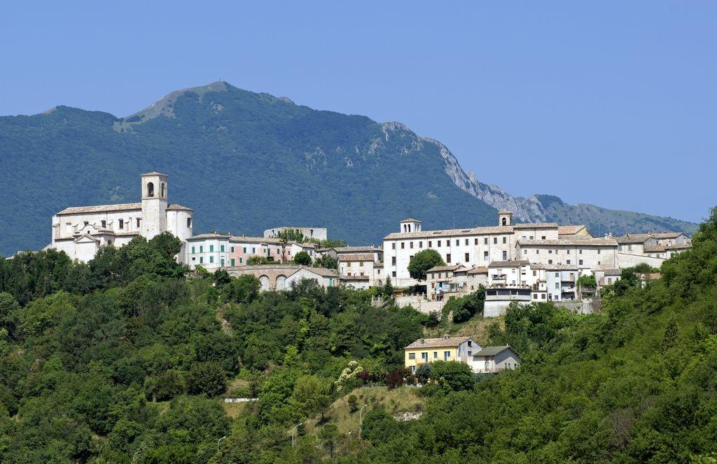 Vista sul borgo di Sassoferrato