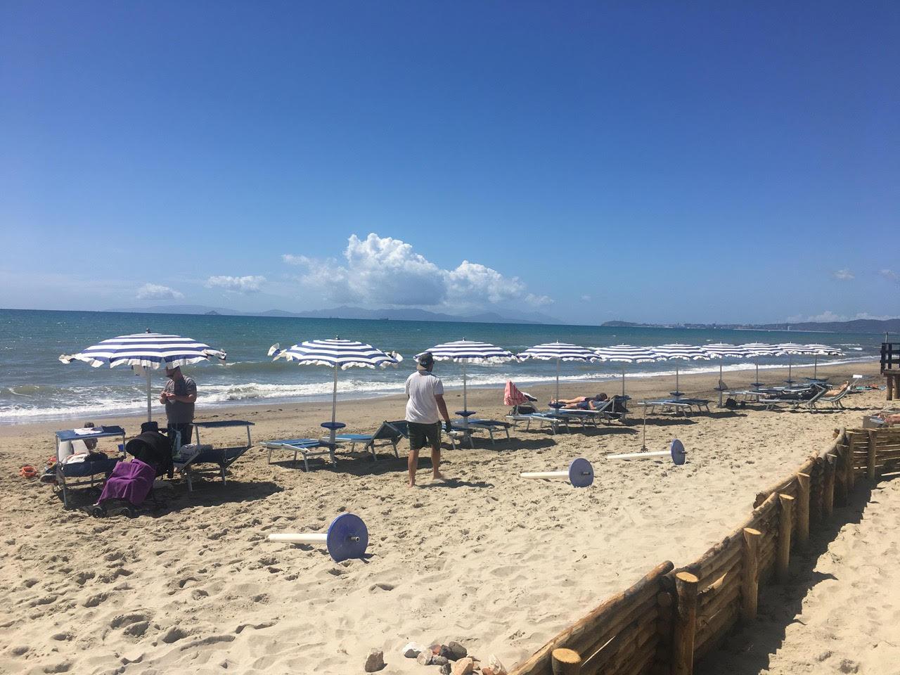 Camperoasi spiaggia