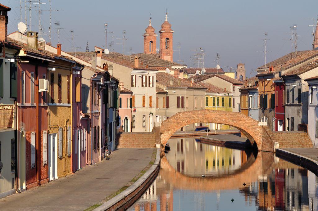 Il centro di Comacchio