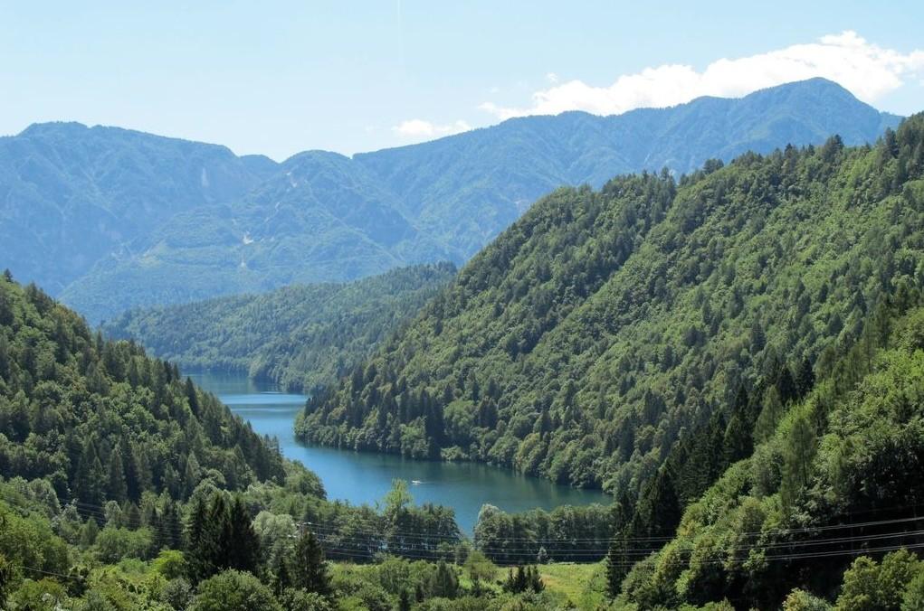 Il lago di Caldonazzo