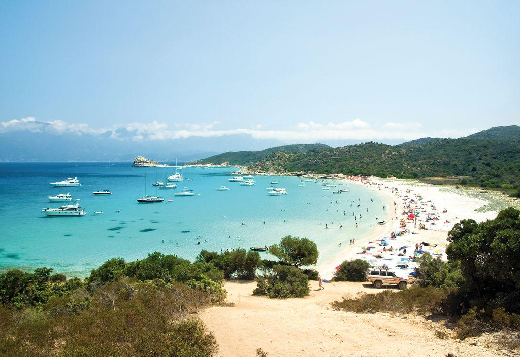 Spiaggia nei pressi di Saint Florent