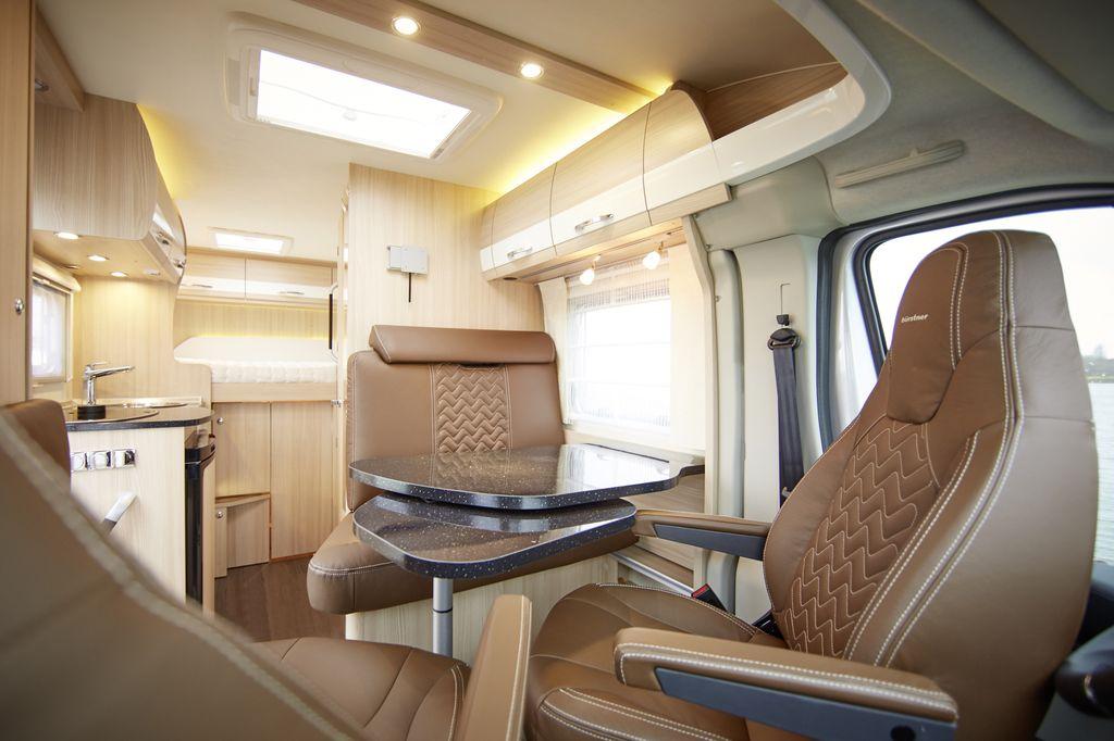 Buerstner Travel Van Sport Line - Interni
