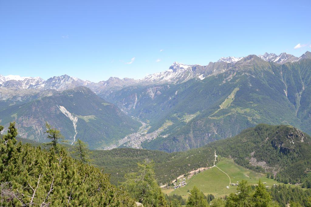 Valmalenco vista dall'Alpe Mastabia