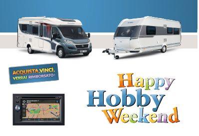 Camper Hobby Happy Week End