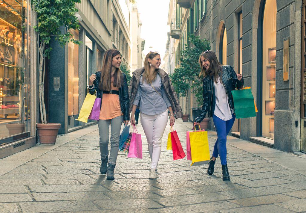 Il quadrilatero della moda, via della Spiga
