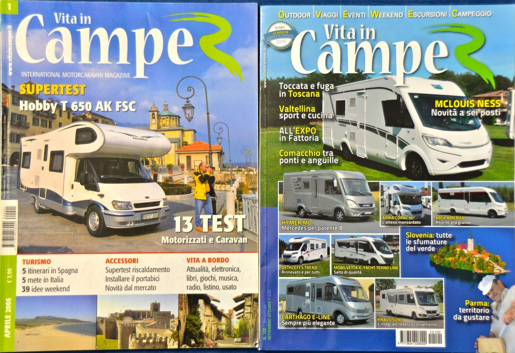 Vita in Camper n.1 - n. 100