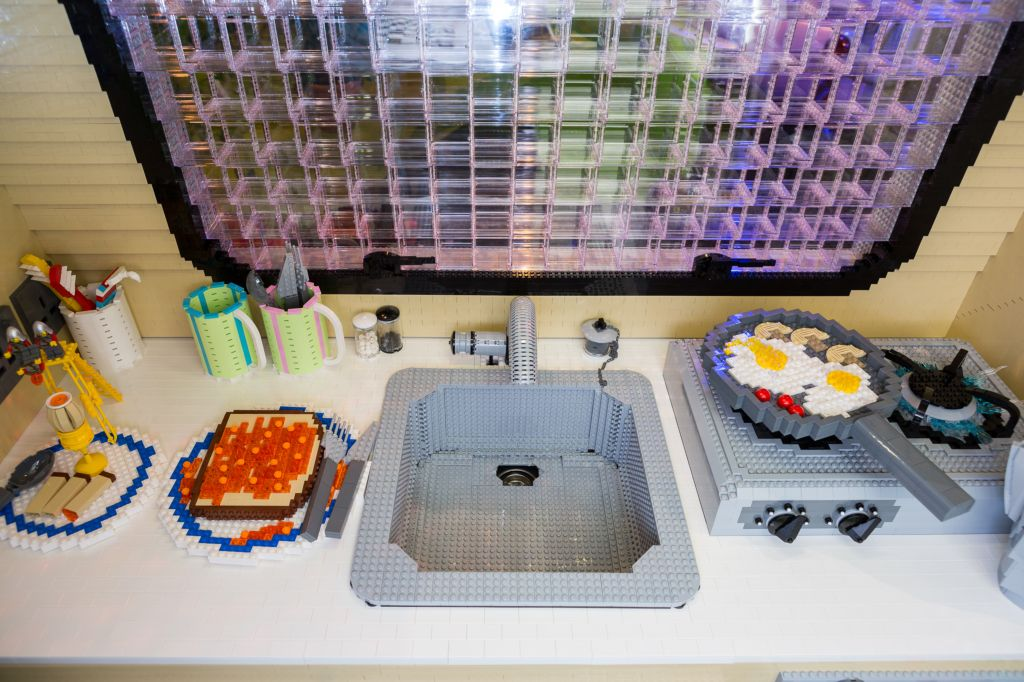 cucina caravan record Lego