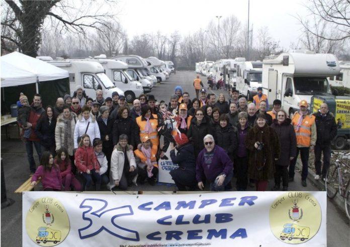 13° raduno dei camperisti al Gran Carnevale Cremasco