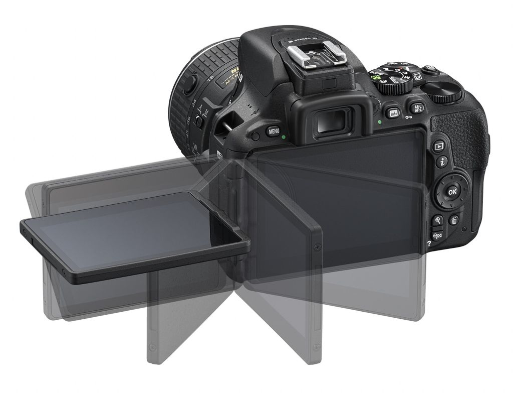 Nikon D5500 funzionalità