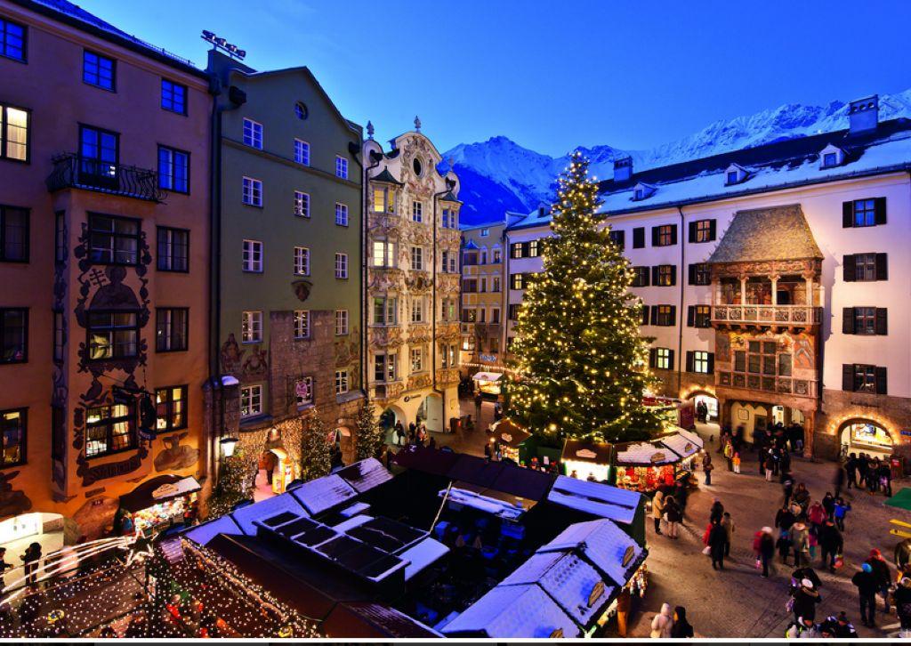 mercatino di Natale del centro storico di Innsbruck