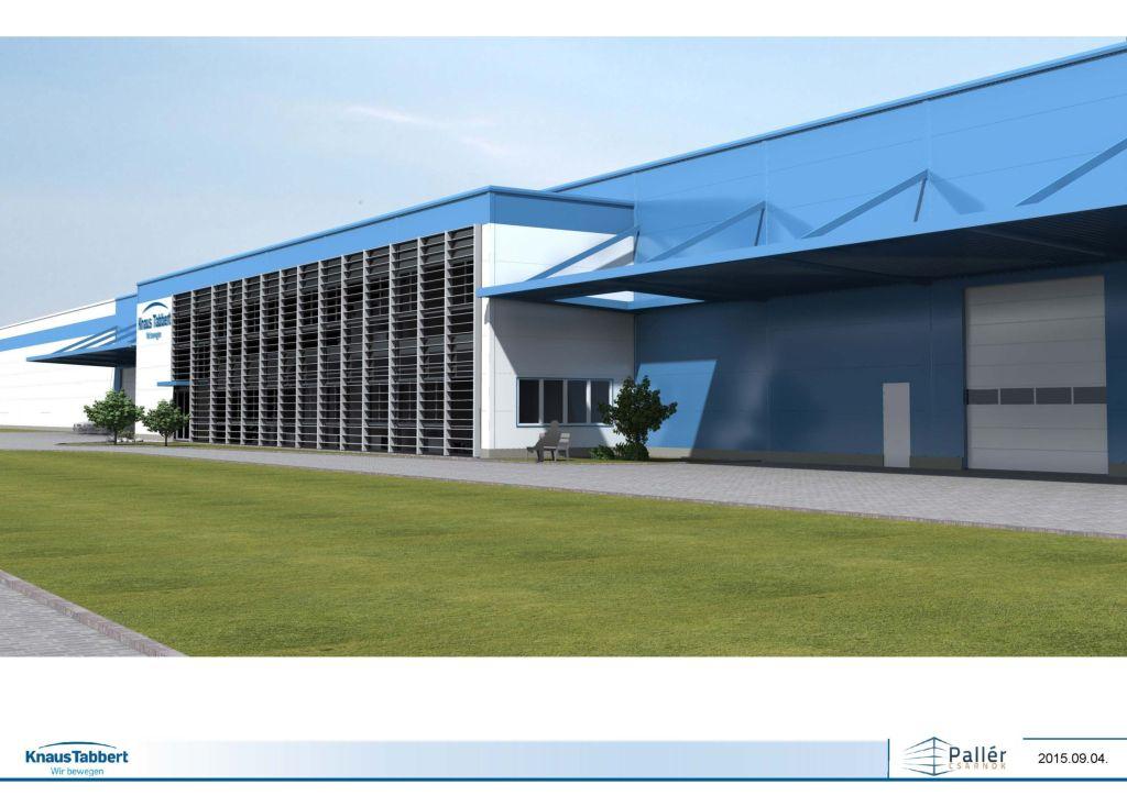 nuovo stabilimento Knaus Tabbert GmbH 2