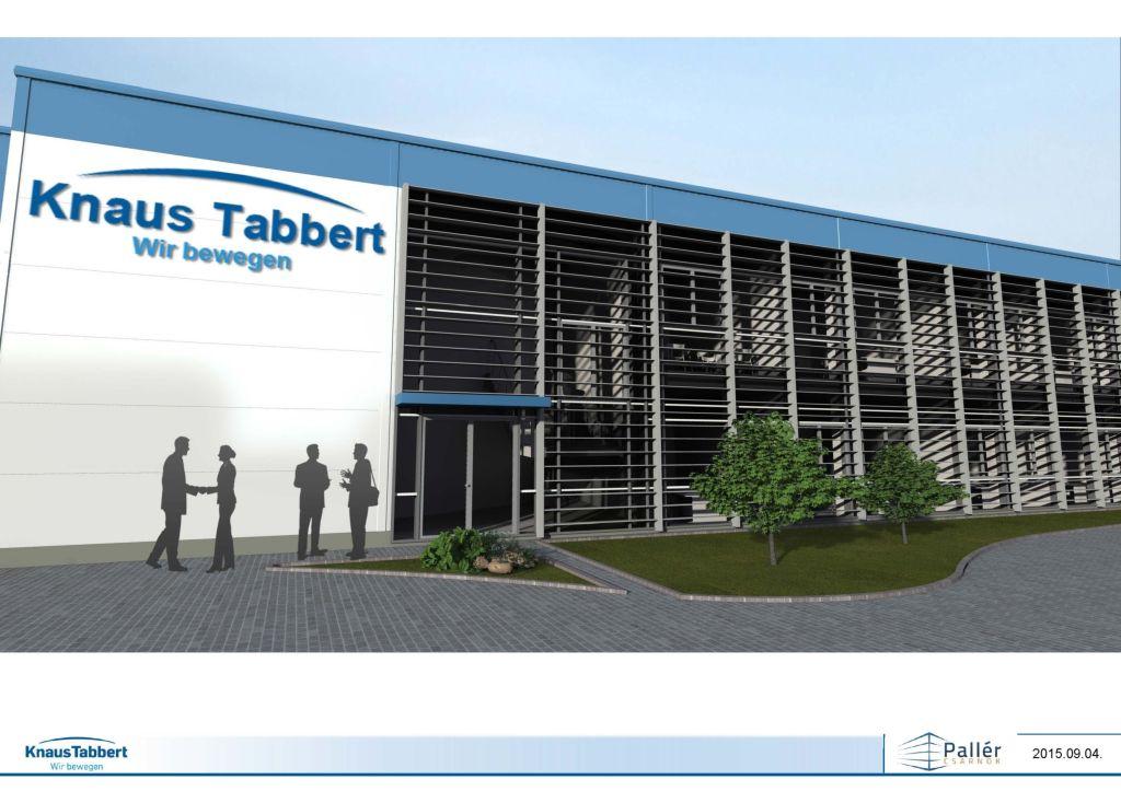 nuovo stabilimento Knaus Tabbert GmbH