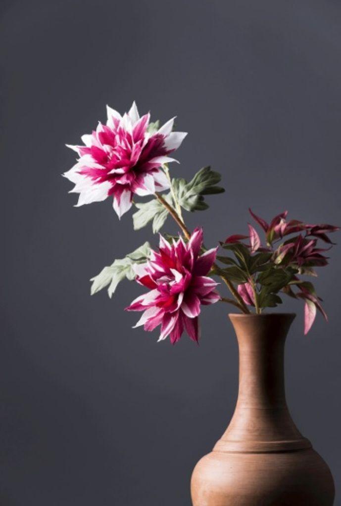 3 fiori di carta