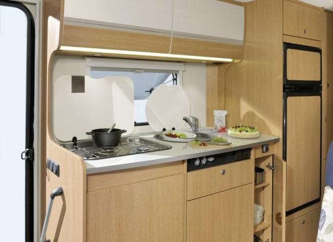 A68, la cucina