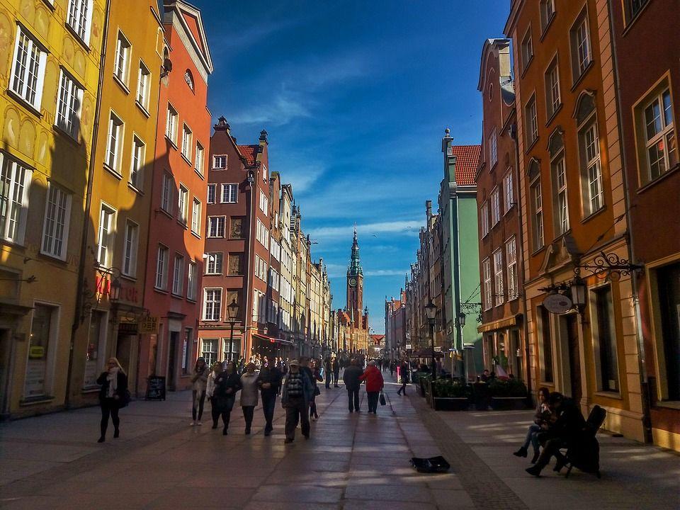 Danzica centro storico