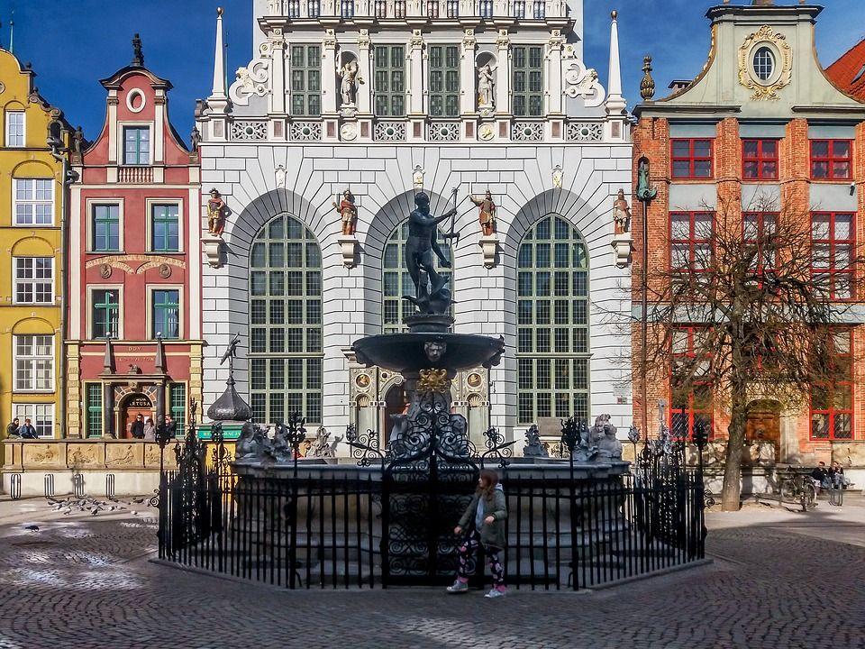 Danzica piazza del Mercato