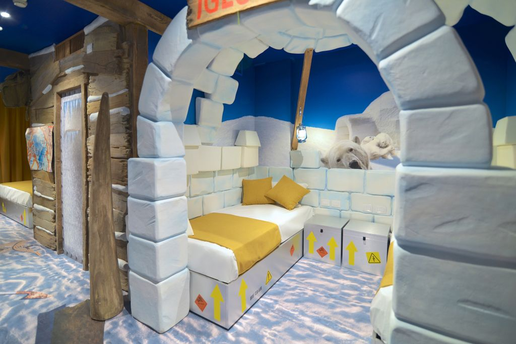 GARDALAND ADVENTURE HOTEL_Artic Adventure room