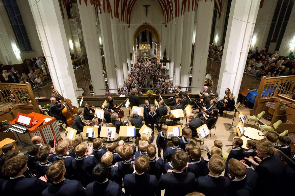 Bachfest, concerto del Thomanerchor nella Thomaskirche