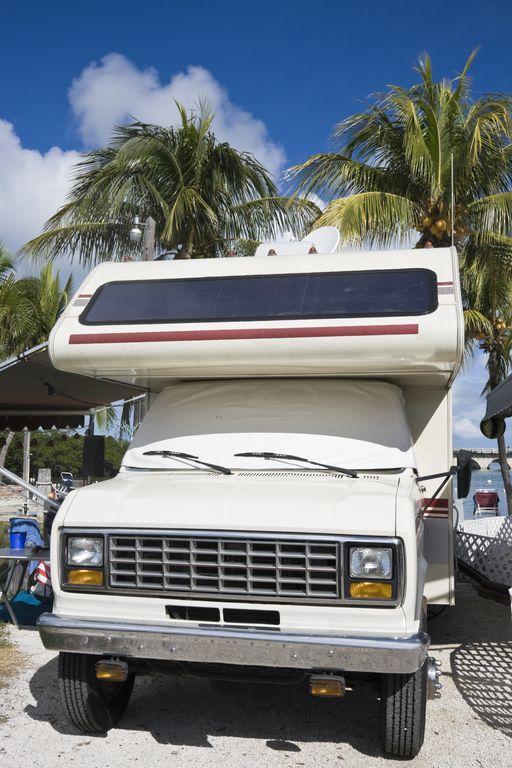 Camper sulle spagge della Florida