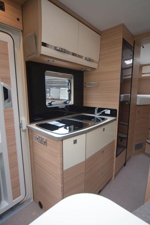 Globebus cucina lineare con frigoslim