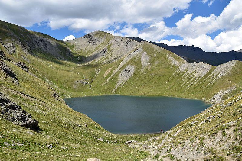 Lac du grand Laus Aiguilles