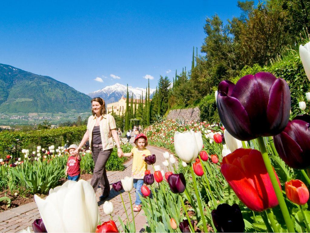 Giardini di Sissi in primavera