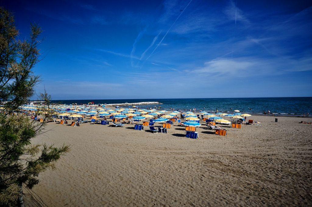 Spiaggia del Camping Village Mediterraneo - Cavallino Treporti