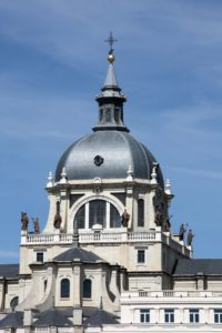 Almudena Cathedral a Madrid