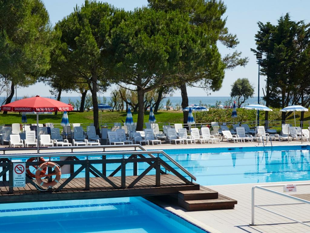 Camping Village Mediterraneo, le piscine